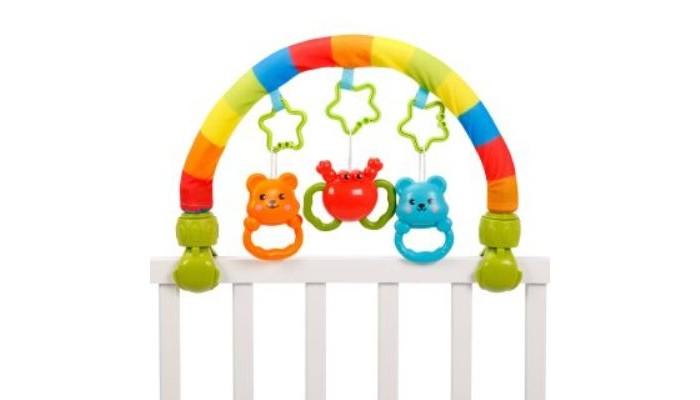 дуги для колясок и автокресел Дуги для колясок и автокресел Жирафики Развивающая игрушка Радуга-дуга