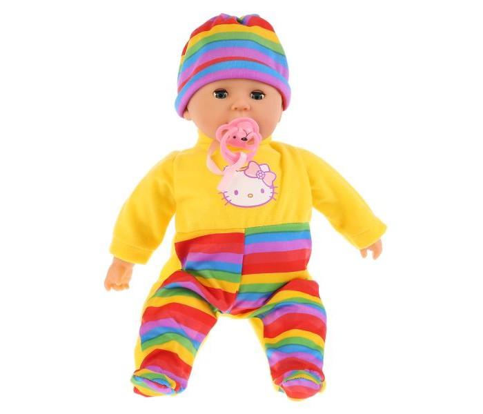 Куклы и одежда для кукол Карапуз Пупс Hello Kitty 35 см 13533-HELLO KITTY hello kitty я иду в гости