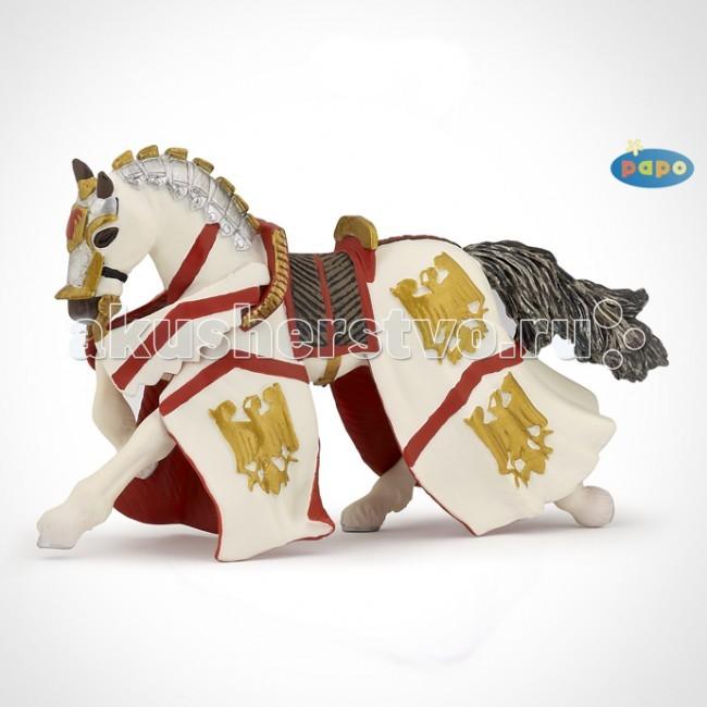 Игровые фигурки Papo Игровая реалистичная фигурка Конь рыцаря Персивала орчи э клятва рыцаря