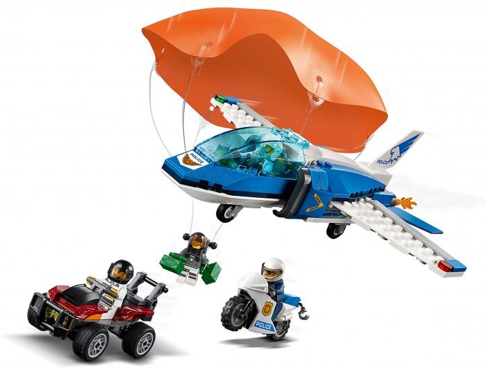 Конструктор Lego City 60208 Police Воздушная полиция: арест парашютиста