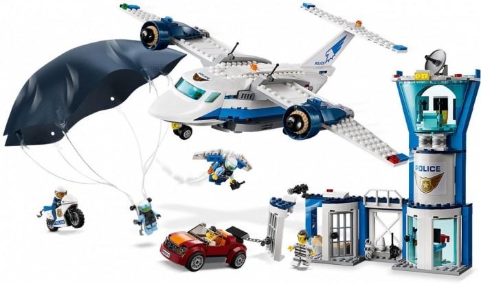 Конструктор Lego City 60210 Police Воздушная полиция: авиабаза