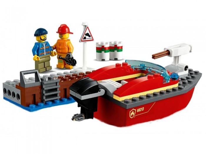 Lego Lego City 60213 Fire Пожар в порту