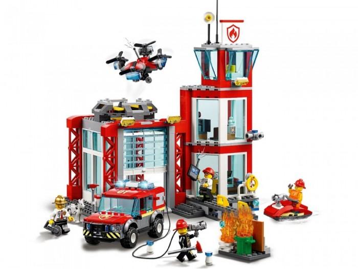 Конструктор Lego City 60215 Fire Пожарное депо