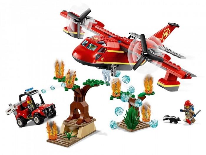 Конструктор Lego City 60217 Fire Пожарный самолёт