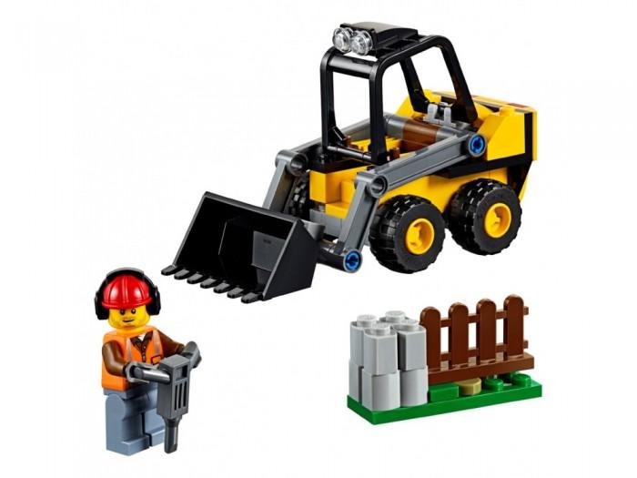 Конструктор Lego City 60219 Great Vehicles Строительный погрузчик