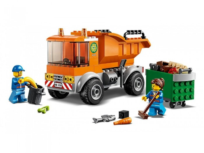 Конструктор Lego City 60220 Great Vehicles Мусоровоз