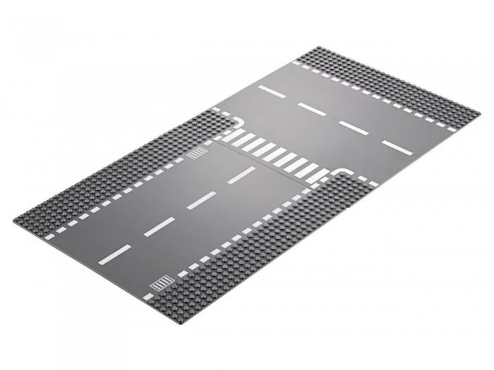 Конструктор Lego City 60236 Supplementary Прямой и Т-образный перекрёсток