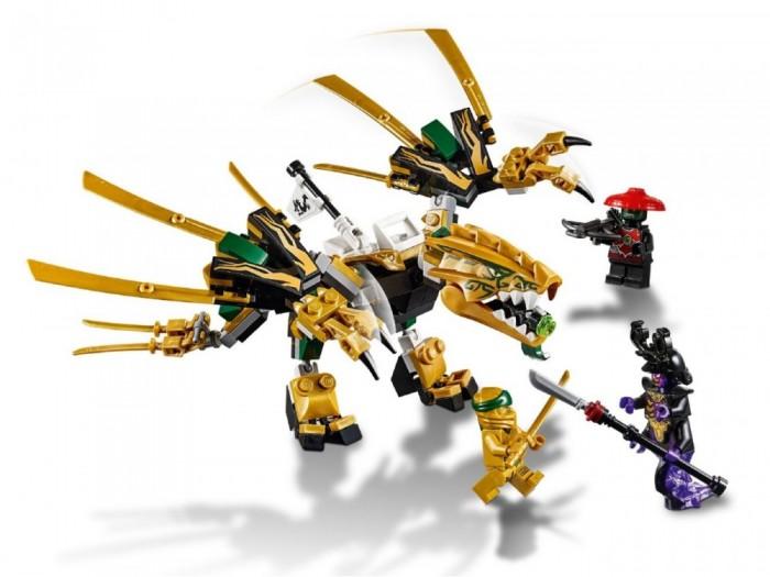 Конструктор Lego Ninjago 70666 Золотой Дракон