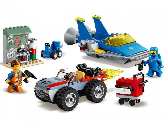 Конструктор Lego Movie 70821 Мастерская Строим и чиним Эммета и Бенни!