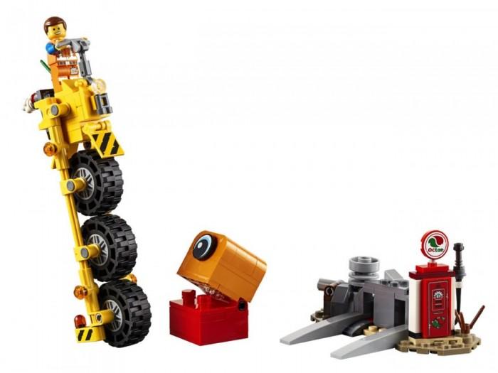 Lego Movie 70823 Трехколёсный велосипед Эммета!