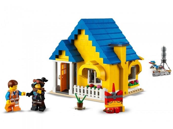 Конструктор Lego Movie 70831 Дом мечты Спасательная ракета Эммета!
