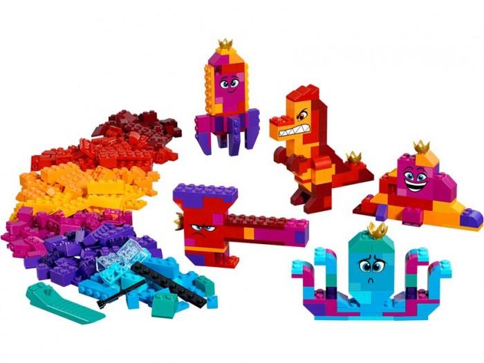 Конструктор Lego Movie 70825 Шкатулка королевы Многолики Собери что хочешь