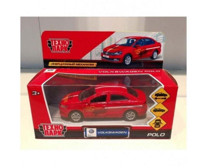 Машины Технопарк Машина VW Polo Спорт инерционный 12 см технопарк машинка технопарк volkswagen polo спорт 12 см