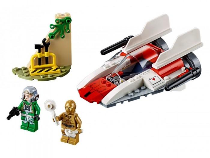 Lego Lego Star Wars 75247 Звёздный истребитель типа А (4+) lego star wars 75249 конструктор лего звездные войны звёздный истребитель повстанцев типа y