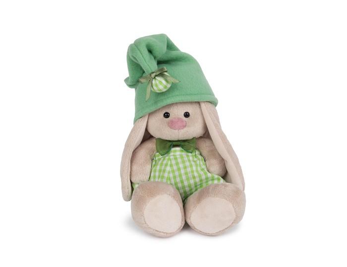 Мягкая игрушка Budi Basa Зайка Ми - гномик в зеленом 18 см