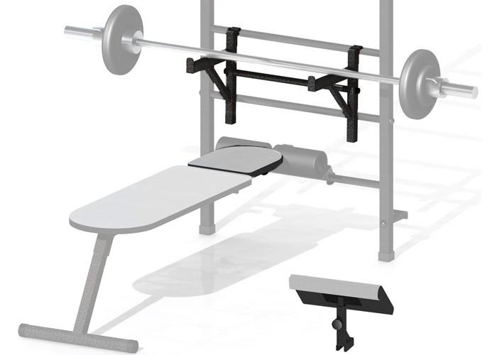Картинка для Kampfer Комплект опций к скамье для пресса KSW professional Bench Press