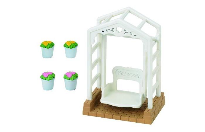 Кукольные домики и мебель Sylvanian Families Набор Садовые качели качели садовые