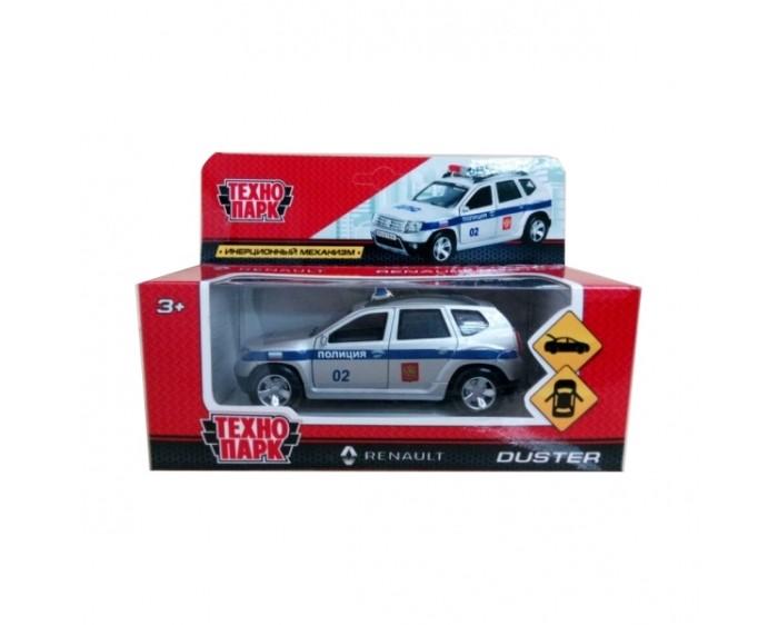 Машины Технопарк Машина Renault Duster Полиция инерционная 12 см машины технопарк машина lada granta полиция