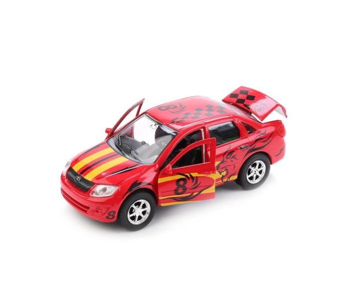 Машины Технопарк Машина Lada Granta Sport инерционная 12 см машины технопарк машина lada granta полиция