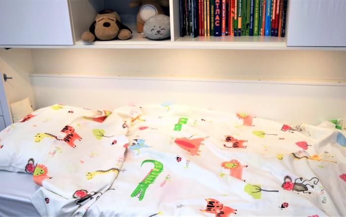 Постельное белье 1.5-спальное Уютная История Джунгли 1.5-спальное (2 предмета)