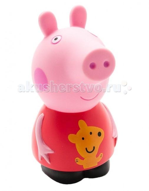 Игрушки для ванны Свинка Пеппа (Peppa Pig) Игрушка для купания Пеппа 10 см скатерть peppa pig пеппа принцеса 133х183 см