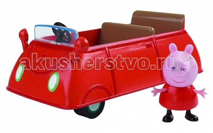 Игровые наборы Свинка Пеппа (Peppa Pig) Игровой набор Машина Пеппы peppa pig игровой набор спортивная машина 24068 4 фигурки
