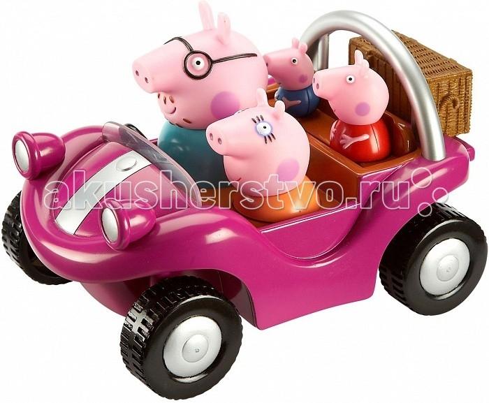 Игровые наборы Свинка Пеппа (Peppa Pig) Игровой набор Спортивная машина игровой набор peppa pig пеппа в автомобиле