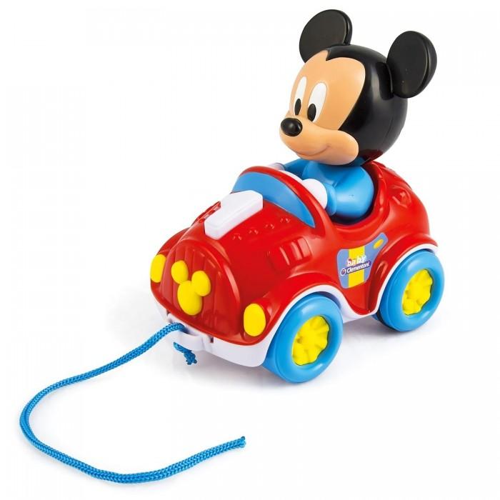 Каталка-игрушка Clementoni на веревочке Микки Маус
