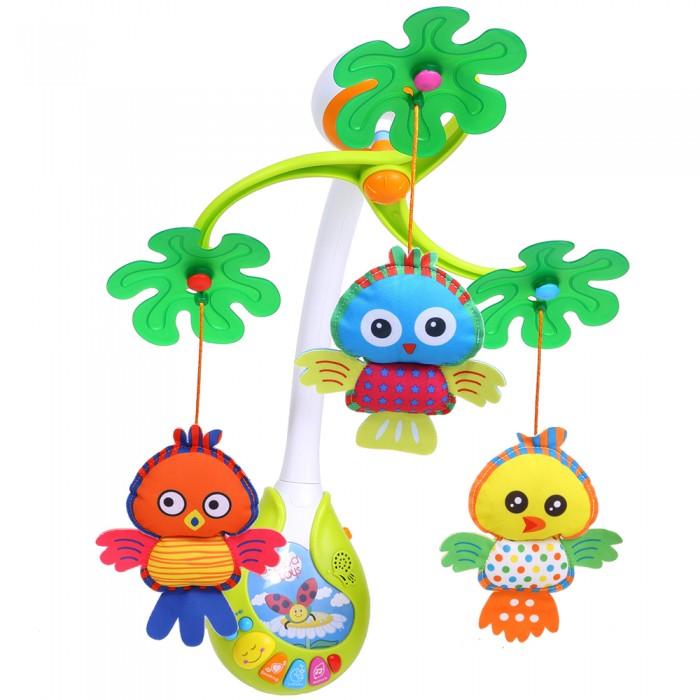 Мобиль Biba Toys Музыкальный Совята-Ребята