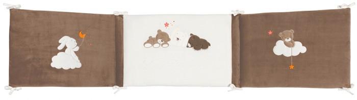 Бортик в кроватку Nattou Mia & Basile Кролик и Мишка универсальный