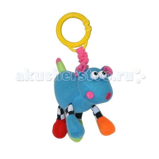 Подвесные игрушки Bertoni (Lorelli) Бегемот с вибрацией