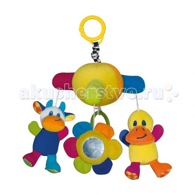 Подвесные игрушки Bertoni (Lorelli) музыкальная Утка