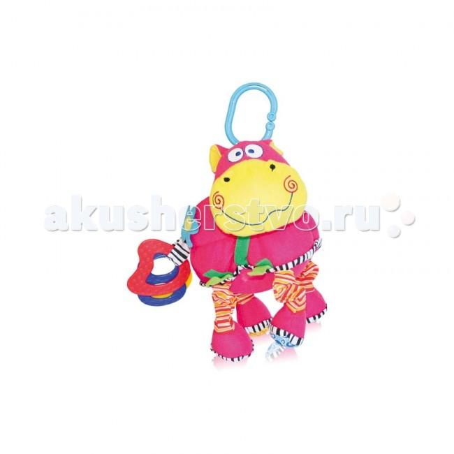 Подвесные игрушки Bertoni (Lorelli) Бегемот вибро смех подвесные игрушки bertoni lorelli бегемот