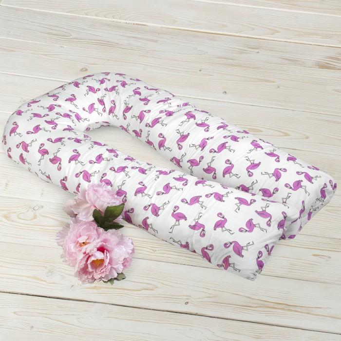 Купить AmaroBaby Наволочка к подушке для беременных U-образная Фламинго 340х35 см в интернет магазине. Цены, фото, описания, характеристики, отзывы, обзоры