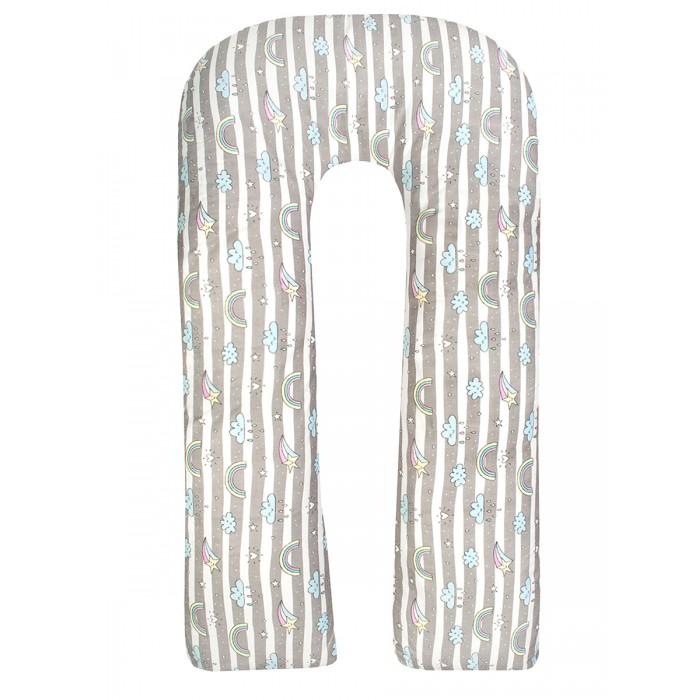Купить AmaroBaby Наволочка к подушке для беременных U-образная Радуга 340х35 см в интернет магазине. Цены, фото, описания, характеристики, отзывы, обзоры