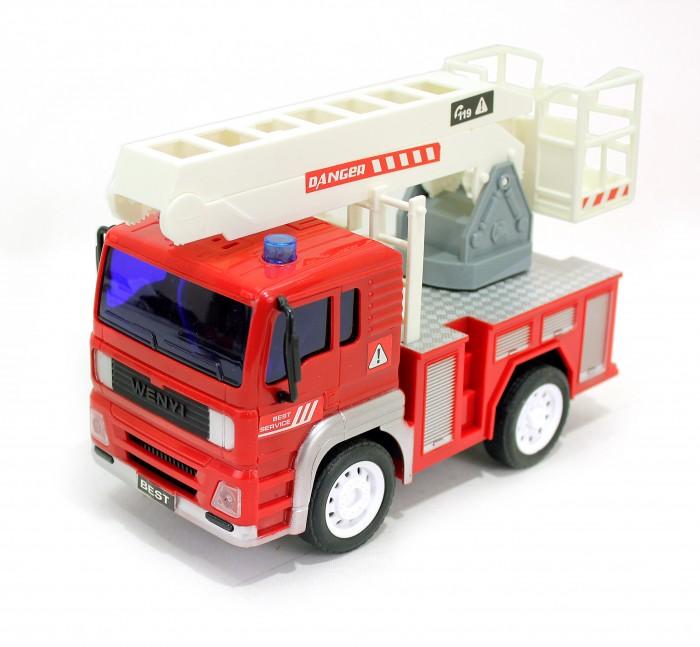 Радиоуправляемые игрушки Drift Машина на радиоуправлении грузовик - пожарный с выдвижным краном машины drift машина с подъемным краном