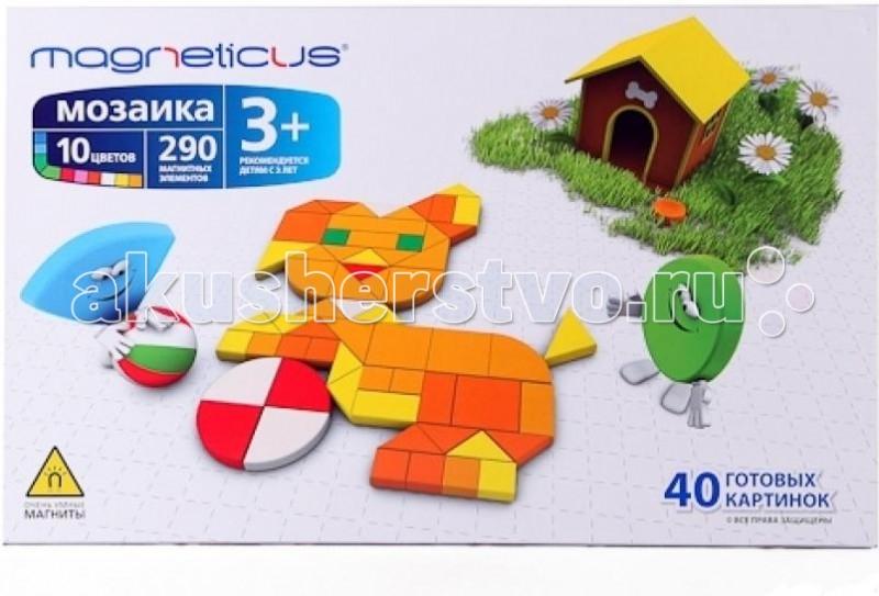 Мозаика Magneticus Мозаика магнитная 290 Элементов цены онлайн