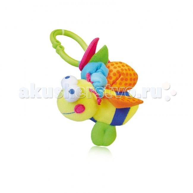 Подвесные игрушки Bertoni (Lorelli) Пчела с вибрацией подвесные игрушки bertoni lorelli бегемот