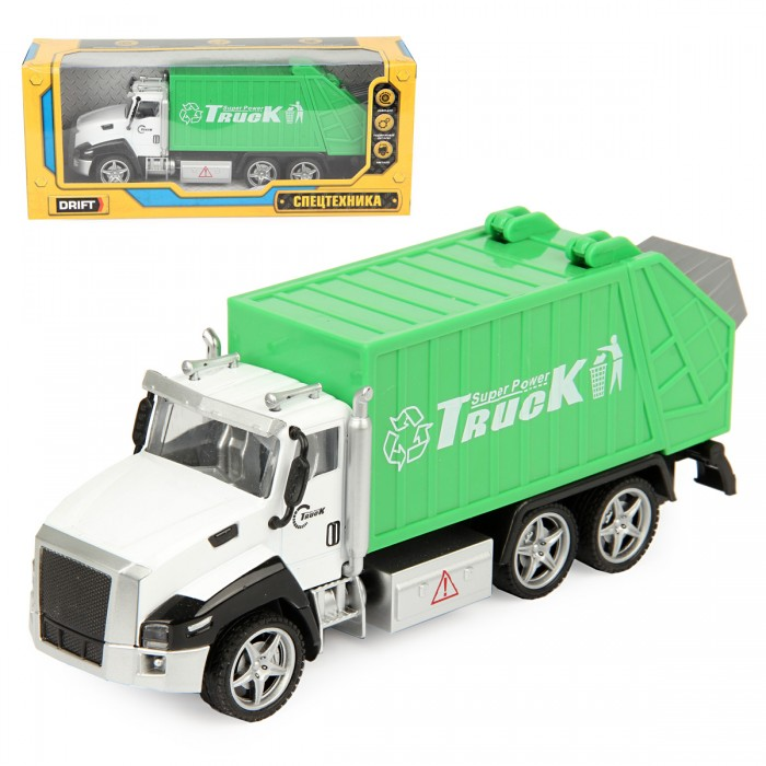 Машины Drift Машина спецтехника Sanitation Truck машины нордпласт мусоровоз спецтехника