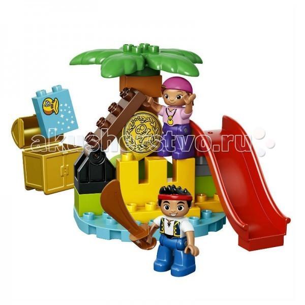 Lego Lego Duplo Джейк Остров сокровищ конструктор lego остров сокровищ 10604