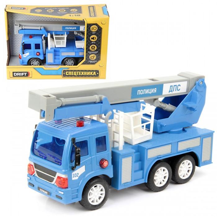 Машины Drift Машина спецтехника Подъёмник полицейский 1:18