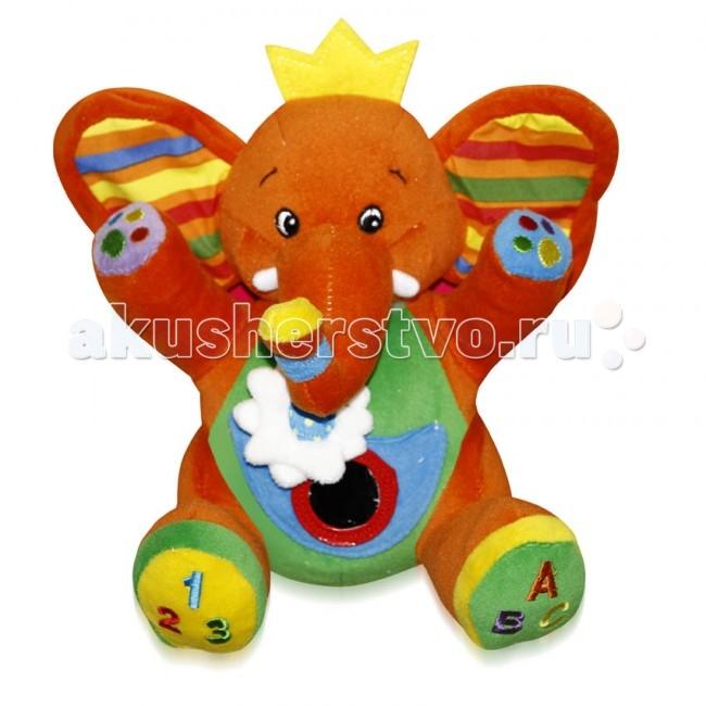 Мягкие игрушки Bertoni (Lorelli) Слон с музыкой подвесные игрушки bertoni lorelli бегемот