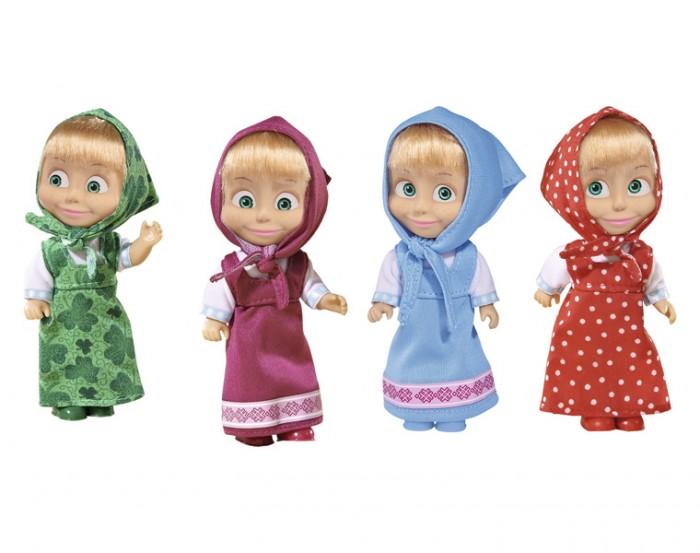 Куклы и одежда для кукол Simba Кукла Маша в сарафане 12 см