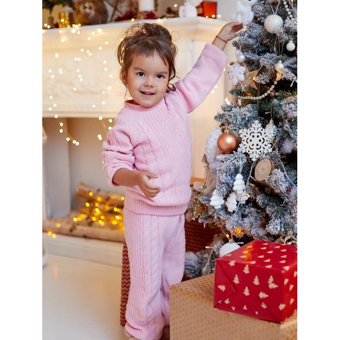 костюм вязаный для девочки в405 пш лапушка купить костюм вязаный