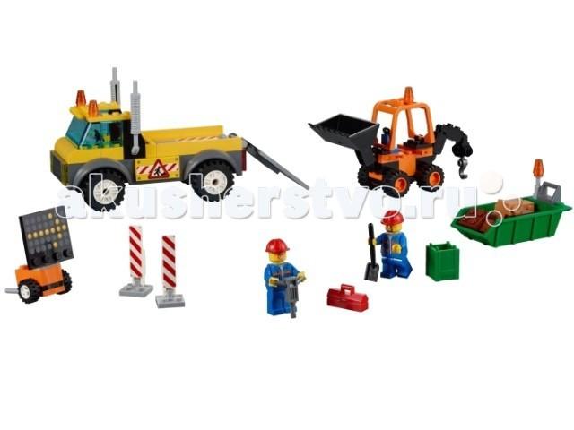 Lego Lego Juniors Грузовик дорожных служб конструктор lego джуниорс грузовик для дорожных работ