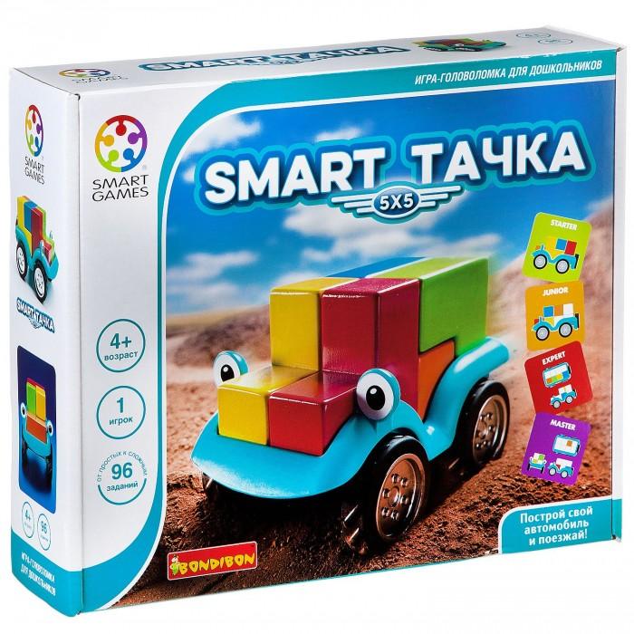 Bondibon Логическая игра Smart Тачка 5X5