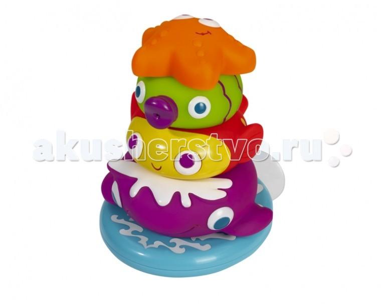 Игрушки для ванны Simba ABC Игрушка для купания Пирамидка с животными