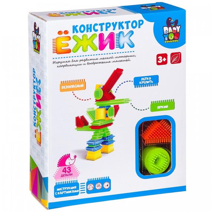 Конструкторы Bondibon Ежик Робот (43 детали)