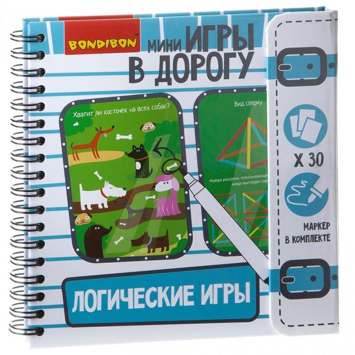 Купить Настольные игры, Bondibon Компактная игра в дорогу Логические игры