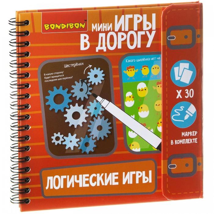 Bondibon Компактная игра в дорогу Логические игры ВВ1956